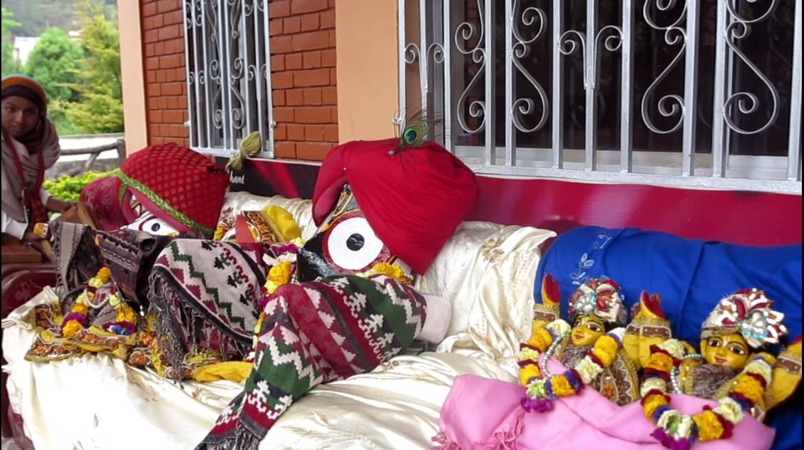 ISKCON Nepal Earthquake